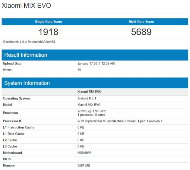 xiaomi-mix-evo-geekbench