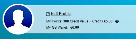 Takto vo vašom Gearbest účte sa zobrazuje hodnota aktuálnych bodov