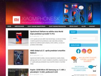 Nový dizajn webu
